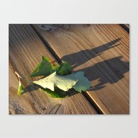 Leaves Me This Resting P… Canvas Print