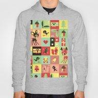 Christmas Geometric Patt… Hoody