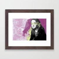 Leah Framed Art Print