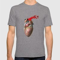 Broken Heart - Fig. 3 Mens Fitted Tee Tri-Grey SMALL