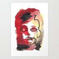 Mark Art Print
