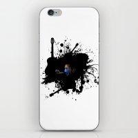 Blue Clapton iPhone & iPod Skin