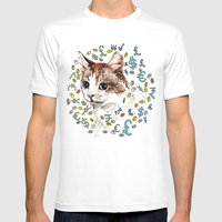 Money Shot Mens Fitted Tee White SMALL