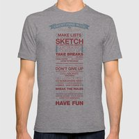 29 Ways To Stay Creative Mens Fitted Tee Athletic Grey SMALL