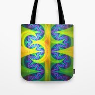 Bright Abstract Patterns… Tote Bag