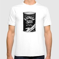 Rainbow Seeds Mens Fitted Tee White SMALL