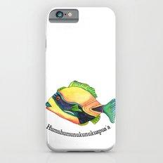 H is for Humuhumunukunukuapua'a Slim Case iPhone 6s
