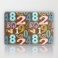 Numberology Laptop & iPad Skin