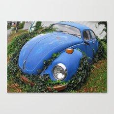 Nature: 1 - Volkswagen Beetle: 0 Canvas Print