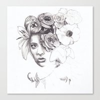 Infinite Spring Canvas Print