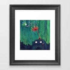 Monsters: Frank Framed Art Print