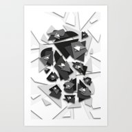 Effecting Geometry Art Print