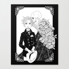 Secrets of Death Canvas Print