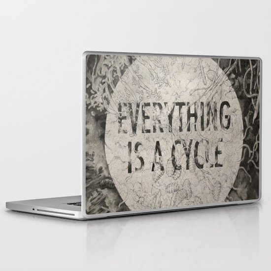 Everything Is A Cycle Laptop & iPad Skin