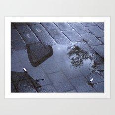 Sidewalk 1 Art Print