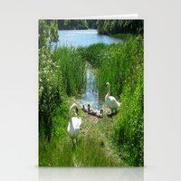 Bosherston Lily Ponds.Pembrokeshire.Wales. Stationery Cards