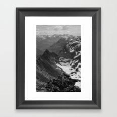 Archangel Valley Framed Art Print