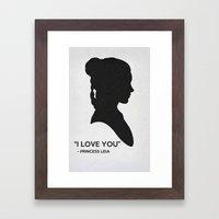 Star Wars Poster 13 Framed Art Print