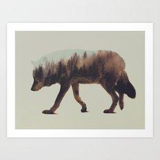 Norwegian Woods: The Wolf Art Print