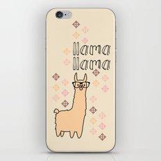 Llama Llama iPhone & iPod Skin