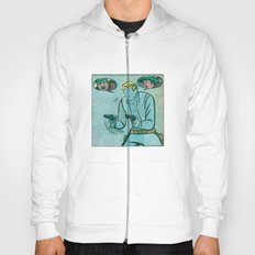 The Unknown Rider Comic Book Panel Hoody