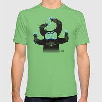 Monster In My Pants Mens Fitted Tee Grass SMALL