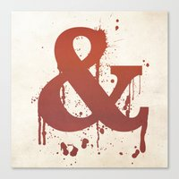 Ampersand. So CUTE! Canvas Print