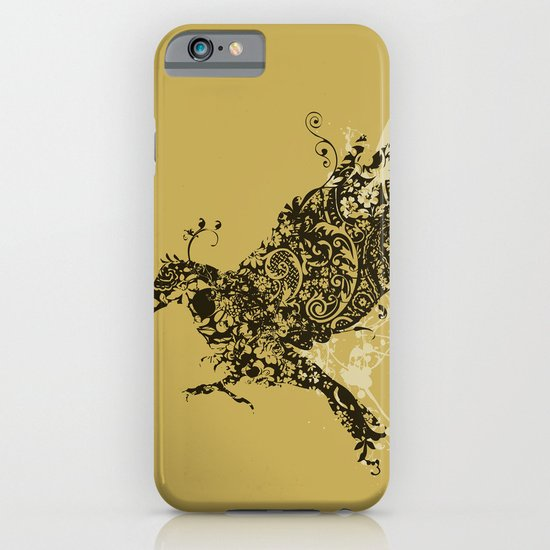 Patterned Bird - The Flower Crow iPhone & iPod Case
