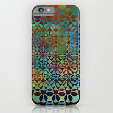 Dots in Dots pattern Slim Case iPhone 6s