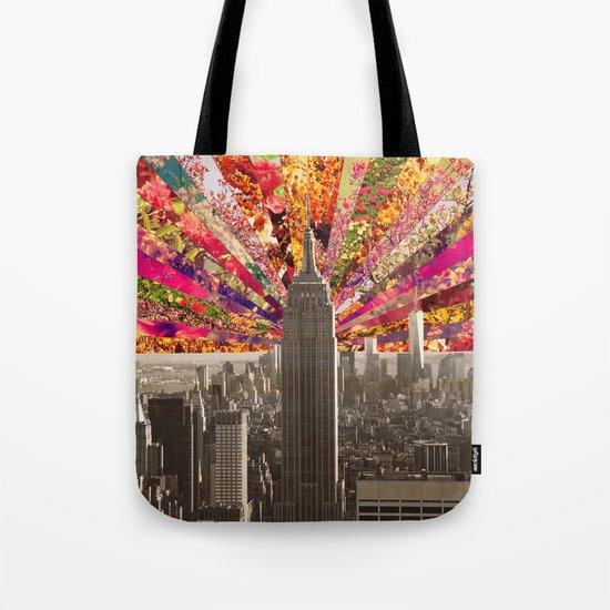 BLOOMING NY Tote Bag