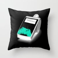 Blow The Whistle Throw Pillow