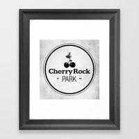 Cherry Rock Park Framed Art Print