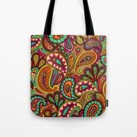 Basic Paisley  Tote Bag