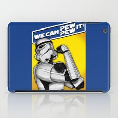 Stormtrooper: 'WE CAN PEW-PEW IT!' iPad Case