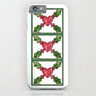 I Love The Holidays iPhone 6 Slim Case