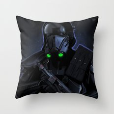 Deathtrooper Throw Pillow