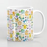 Cute Pokémon Doodle  Mug