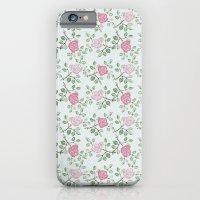 Rose Print iPhone 6 Slim Case