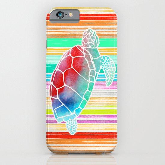 Turtle  by Jacqueline Maldonado & Garima Dhawan iPhone & iPod Case