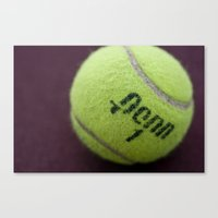 Anyone For Tennis? Canvas Print