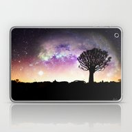 African Skyline Galaxy Laptop & iPad Skin