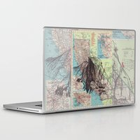 california Laptop & iPad Skins featuring California by Ursula Rodgers