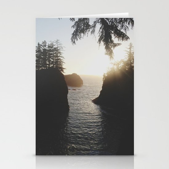 Secret Beach Stationery Card