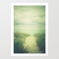 Finding Calm Art Print