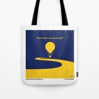 No177 My Wizard minimal movie poster OZ Tote Bag