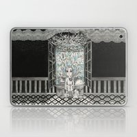 The Boy With An Apple Where His Heart Should Be Laptop & iPad Skin