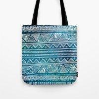 Hippie Pattern Tote Bag