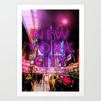 New York City - Color Art Print