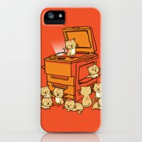 iPhone 5s & iPhone 5 Cases featuring The Original Copycat by Budi Kwan