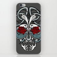 Celtic Skull iPhone & iPod Skin